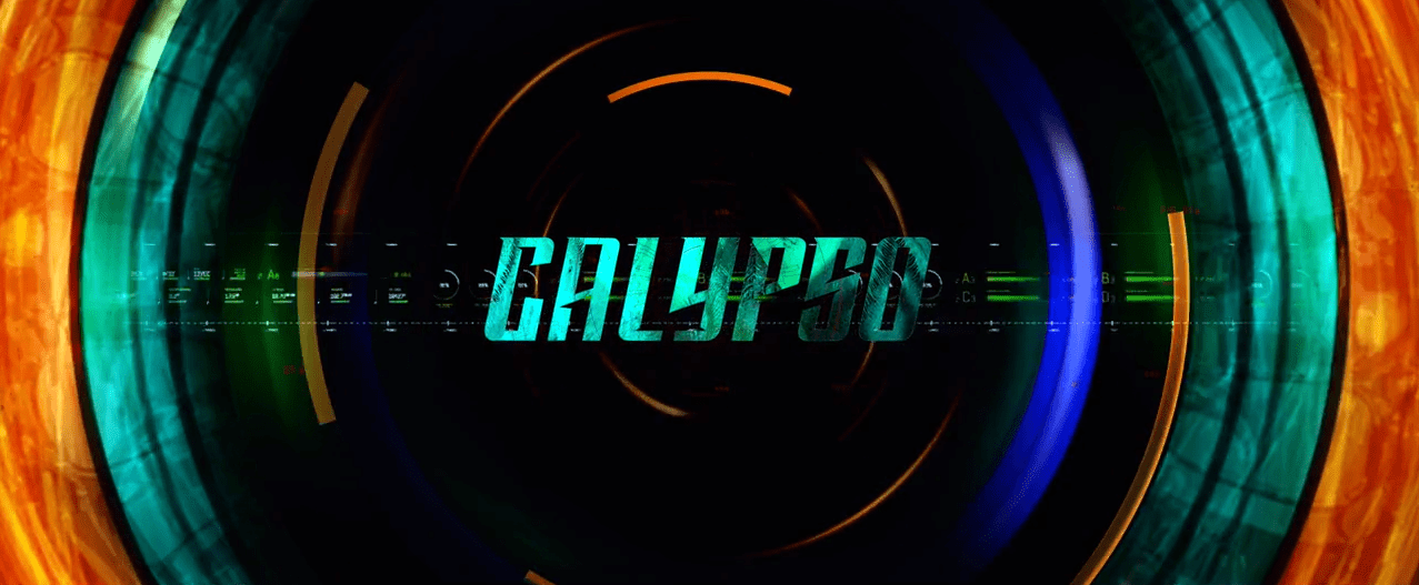 Title card for Star Trek Discovery's short Calypso