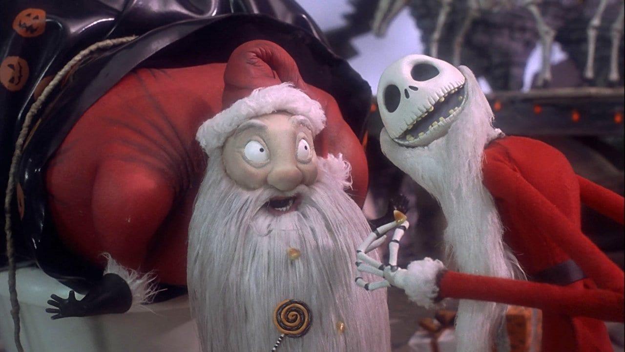 Santa & Jack Skellington, The Nightmare Before Christmas
