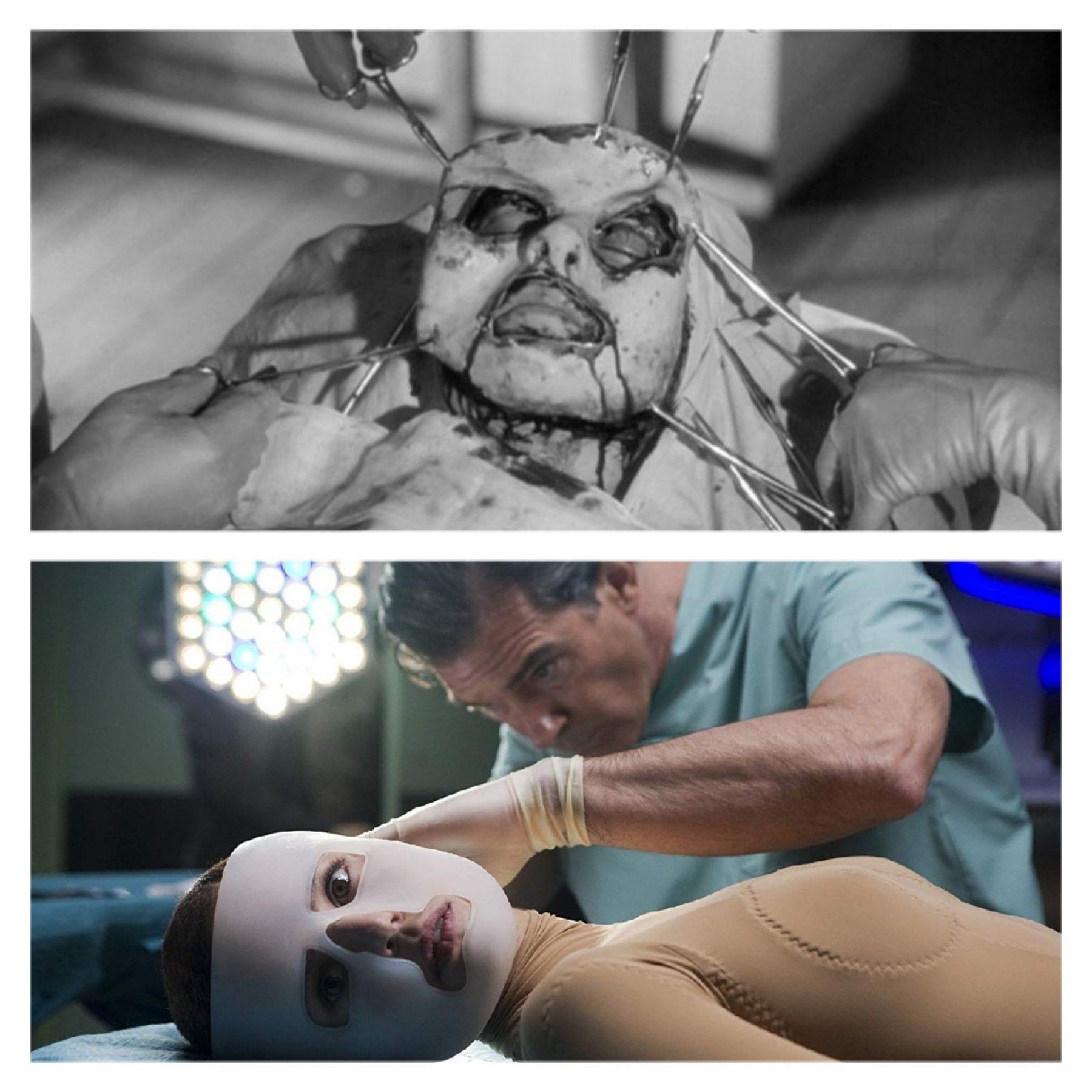 Dr. Génessier and Dr. Ledgard experiment on their respective captives.