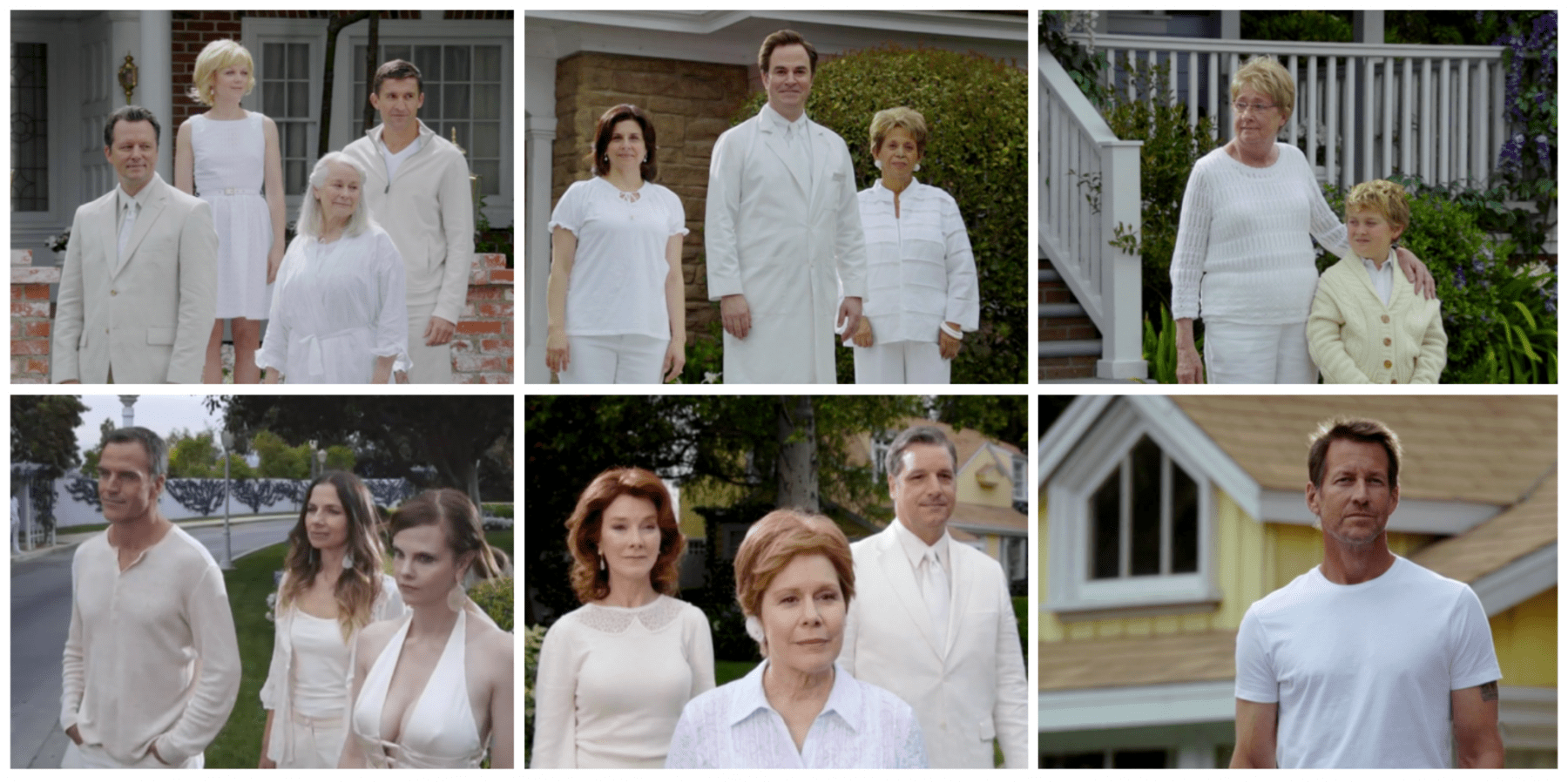 The ghosts of Wisteria Lane as seen in the finale of Desperate Housewives