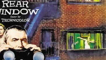 Rear Window movie poster