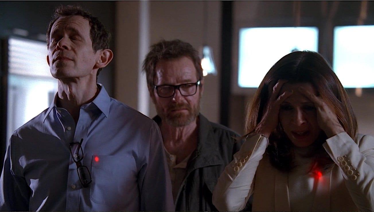 """Walter White threatens Gretchen and Elliott Schwartz in the Breaking Bad series finale """"Felina"""""""