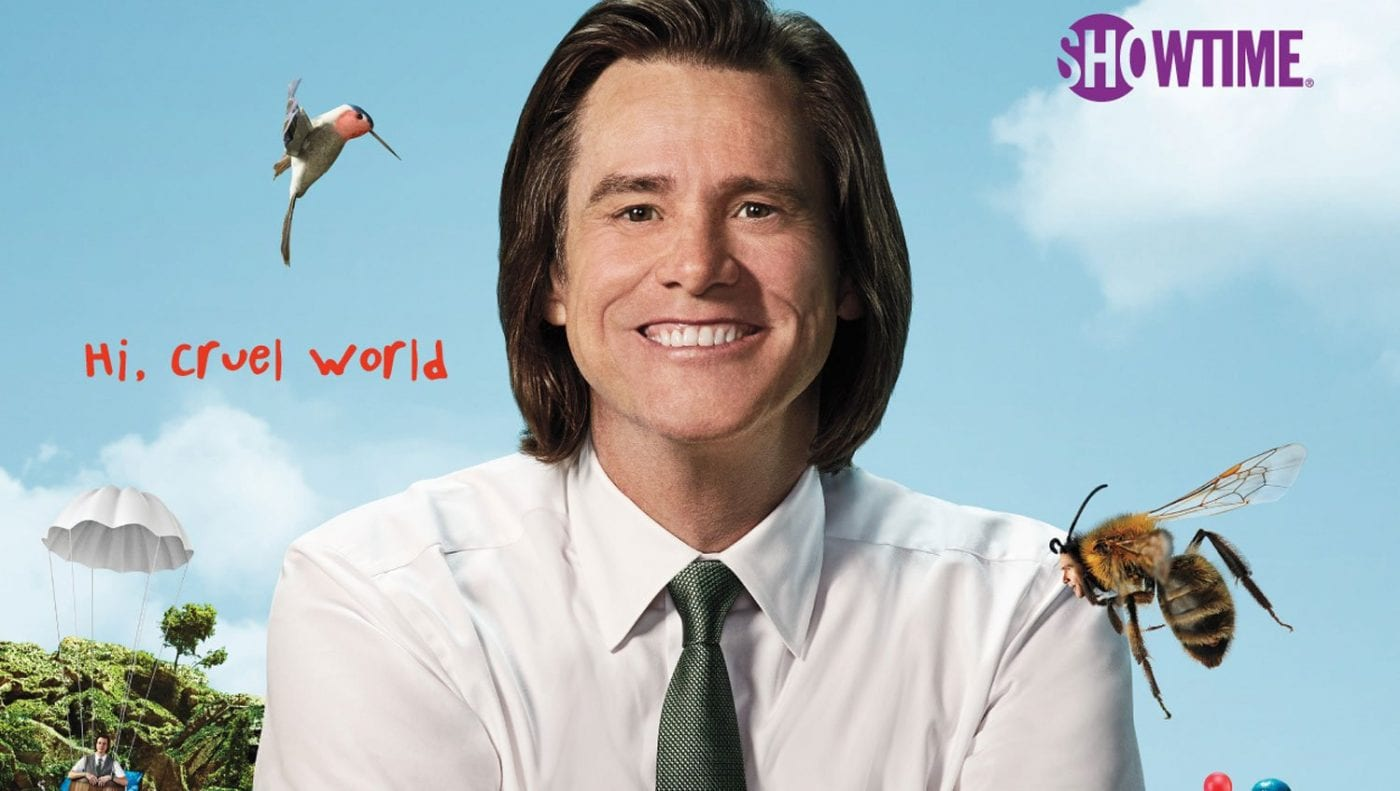 Title Card for Kidding, created by Dave Holstein and starring Jim Carrey