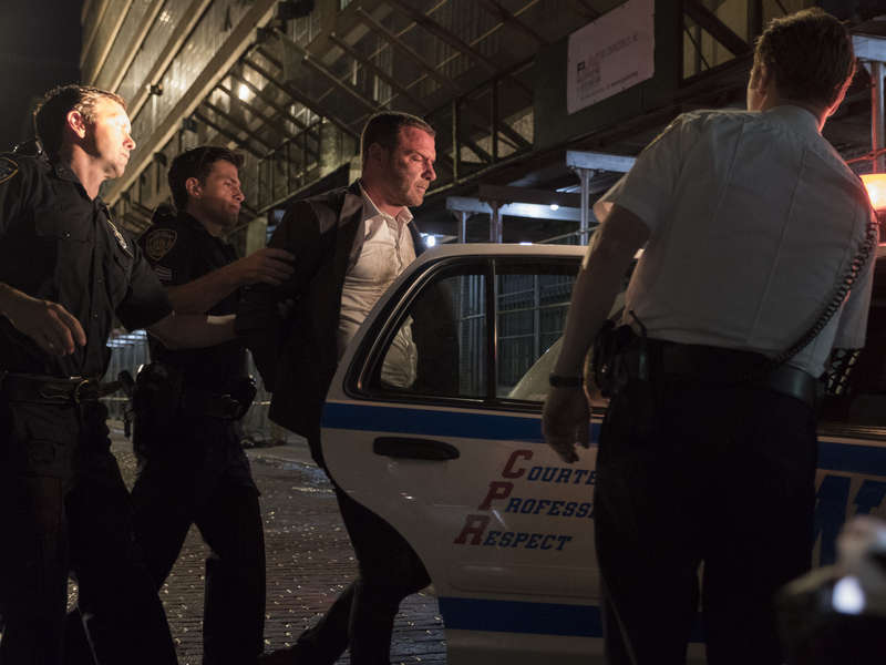 NYPD take Ray Donovan away for a beating, Season 6