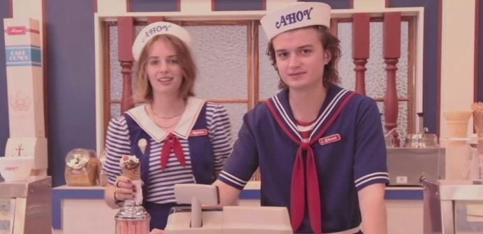 Steve and who is this? Stranger Things Season 3