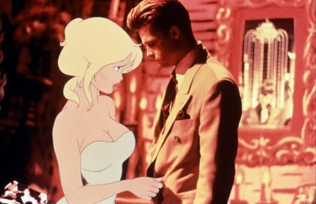 Brad Pitt stars in one of his lesser known movies, Cool World 1992