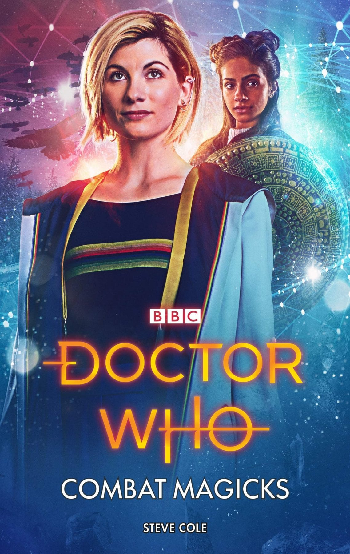 Doctor Who novel cover, 2019, Combat Magicks