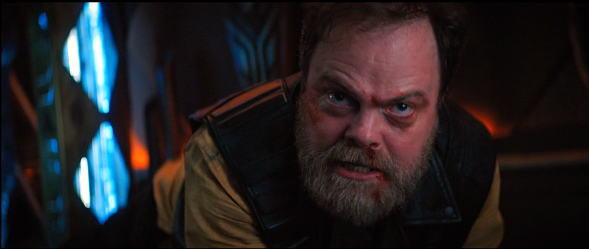Harry Mudd trapped on a Tellerite ship