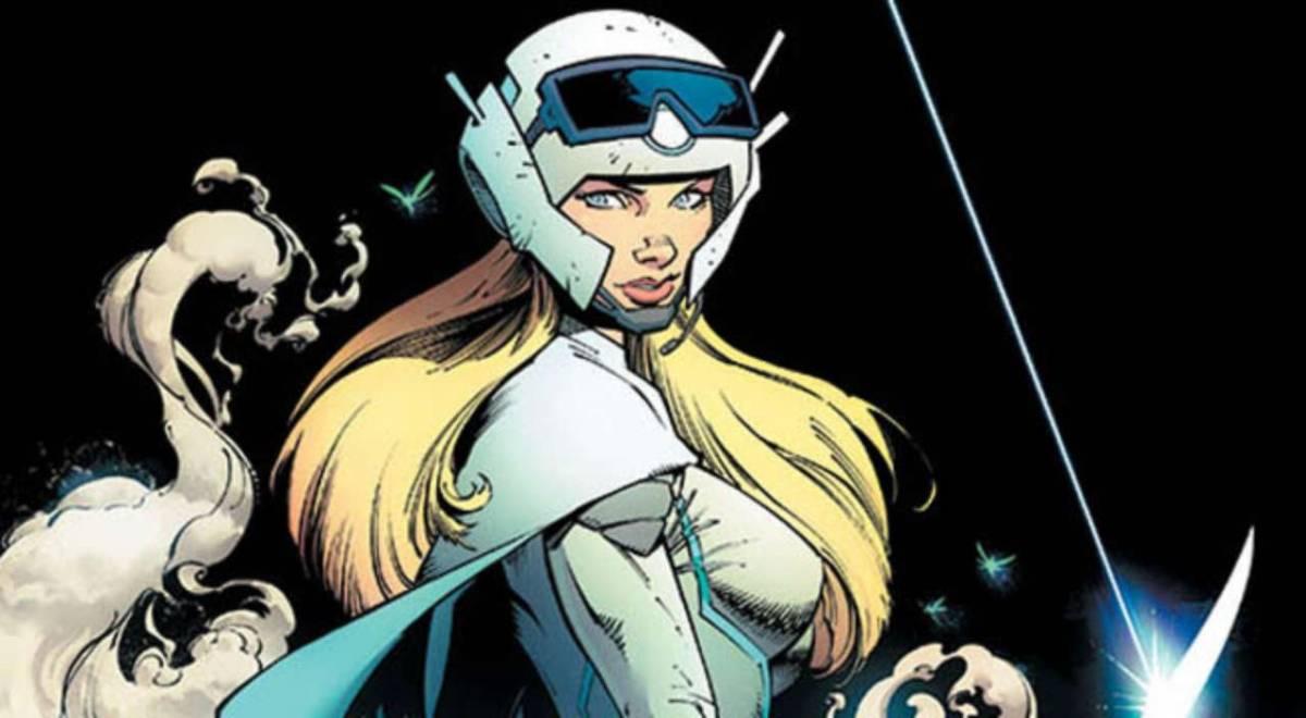 image of female pilot from Reborn comic