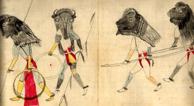 Buffalo Dance by Black Hawk, c1880.