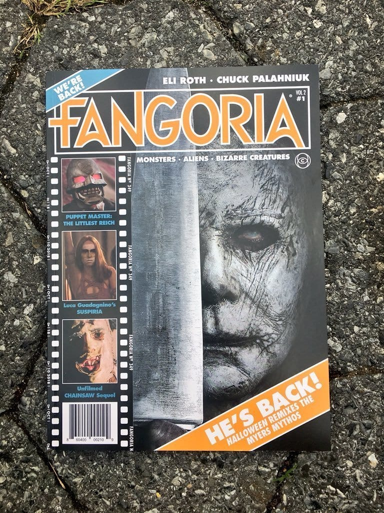 Issue 1 of the all new Fangoria, which sold out