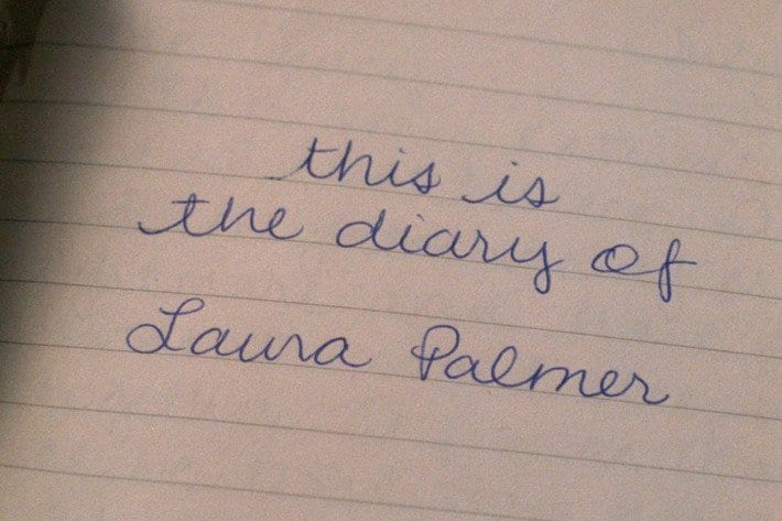 """The Secret Diary of Laura Palmer"" starts out like any other teenager"