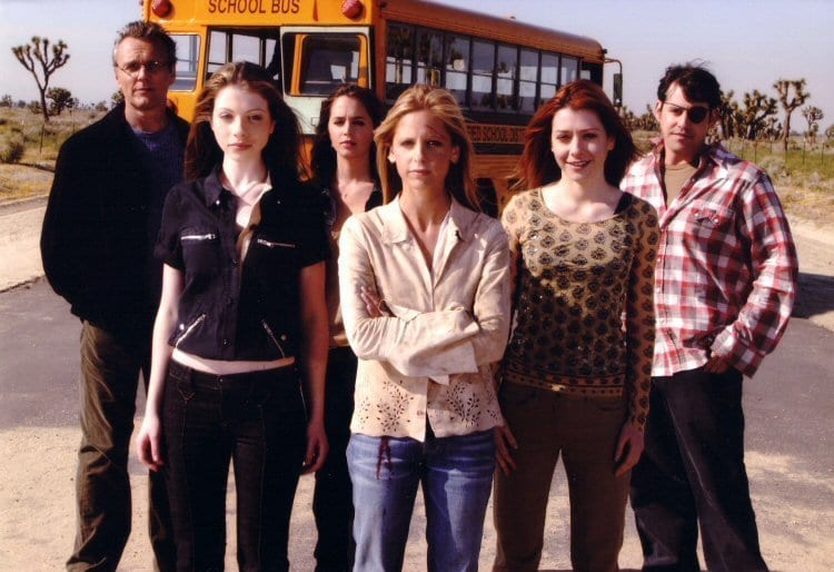 The Buffy the Vampire Slayer Finale chosen starring the whole team