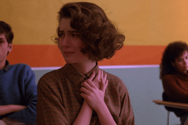 Lara Flynn Boyle as Donna Hayward in Twin Peaks