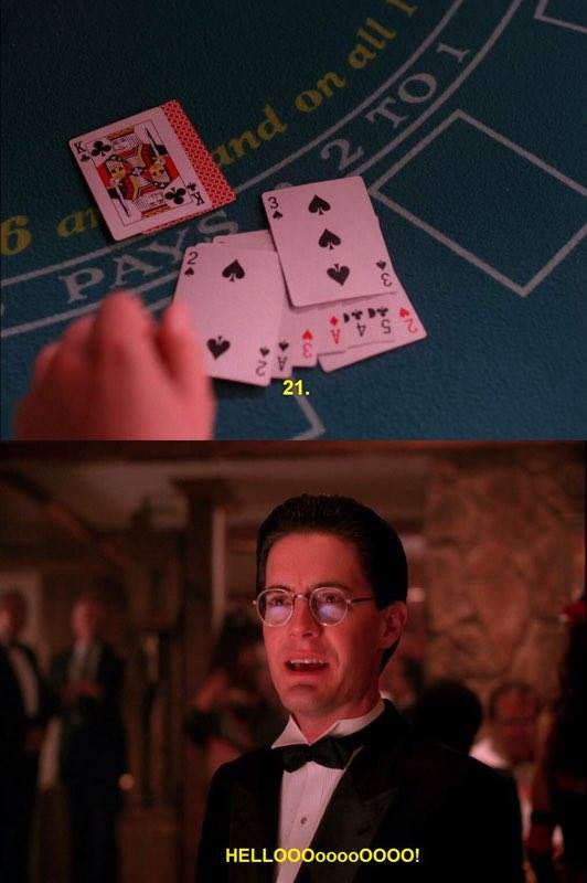 Dale Cooper was already Mr. Jackpots in the original run of Twin Peaks