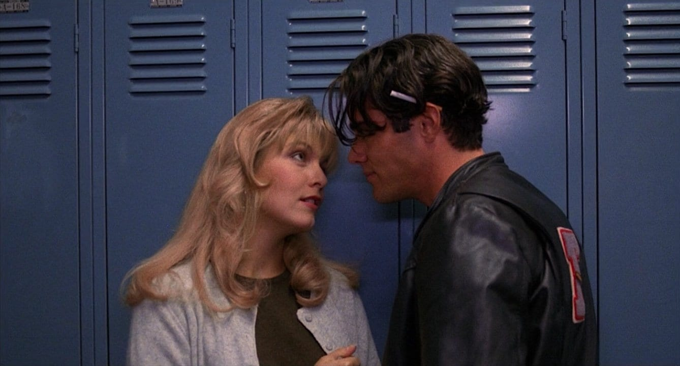 Bobby Briggs gives cocaine to Laura Palmer in Twin Peaks: Fire Walk With Me
