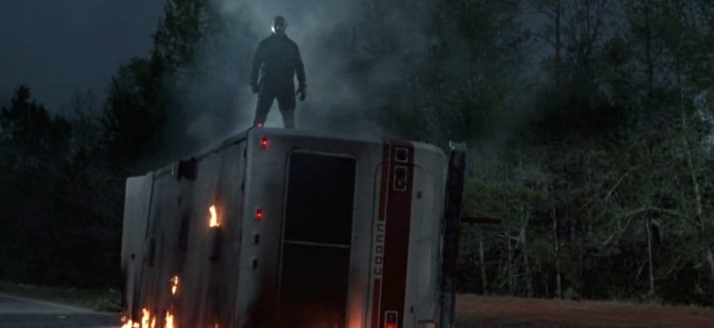 Jason stands tall in Friday the 13th Part 6: Jason Lives