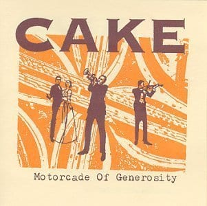Cake Motorcade of Generosity album cover