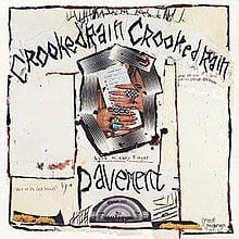 Pavement Crooked Rain, Crooked Rain album cover