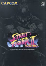 Street Fighter II Turbo Capcom logo