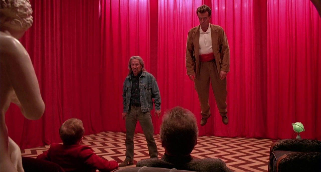 Killer Bob giving away the garmonbozia in the Black Lodge