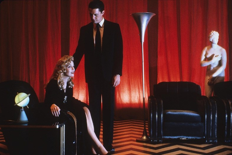 Dale Cooper and Laura Palmer in the Red Room