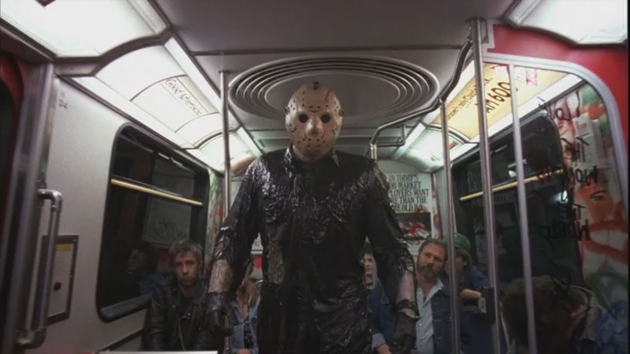 Jason rides the subway in Jason Takes Manhattan