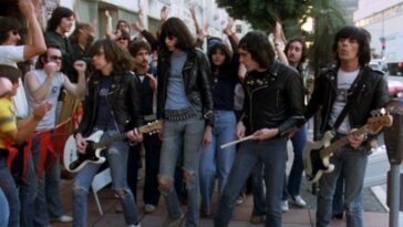 The Ramones in Rock n Roll High school