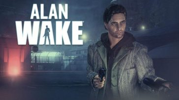 Alan Wake title screen