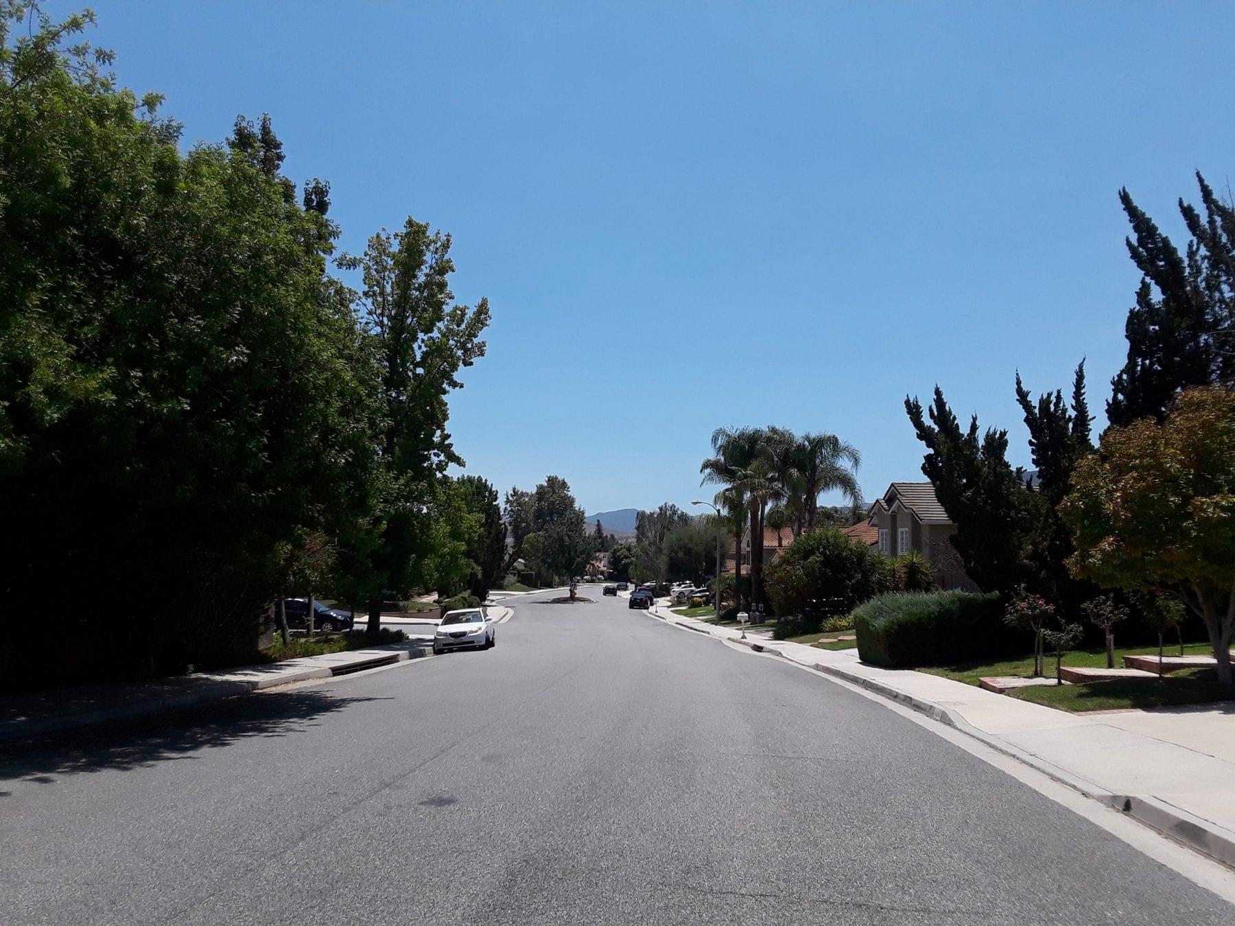 The Poltergeist neighbourhood in Agoura Hills
