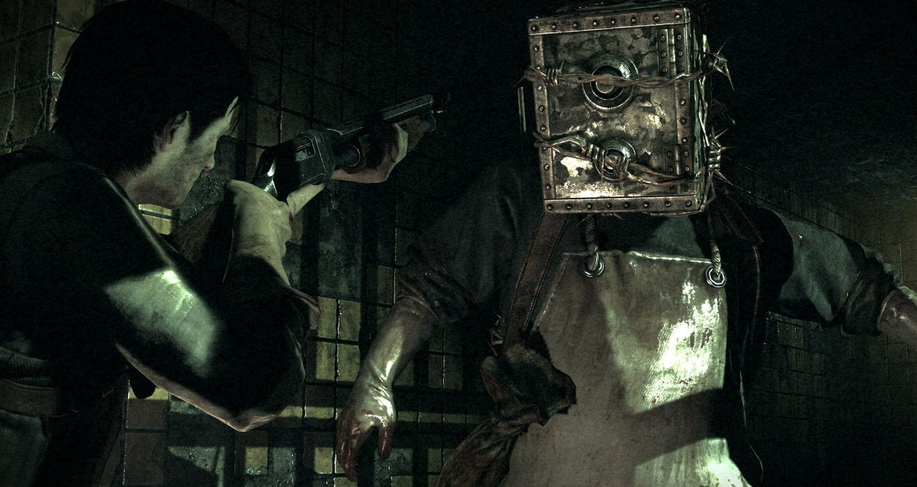 Sebastian takes on The Executioner in The Evil Within