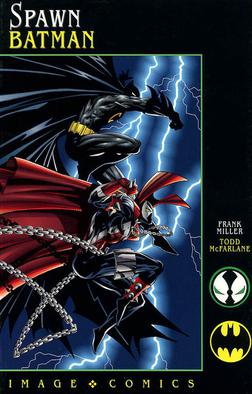 Spawn/Batman by Image Comics, cover art by Todd McFarlane