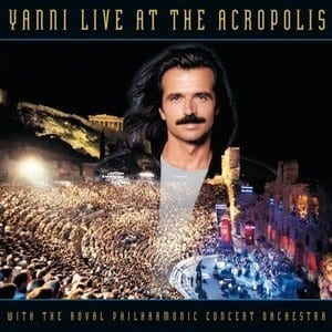 Yanni Live at the Acropolis album cover art
