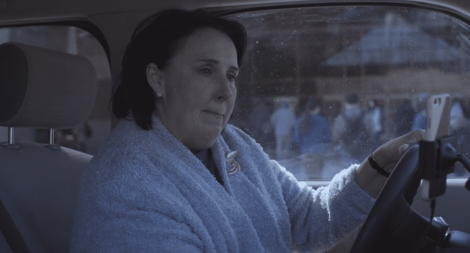 Phyllis Smith as Betty Broderick-Allen (BBA) in The OA