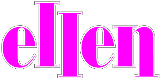 Logo for the sitcom Ellen