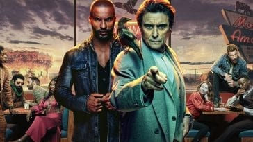 Title poster for American Gods TV Series