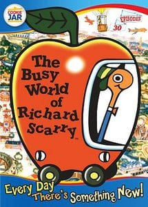 Busy World of Richard Scarry cartoon box set cover