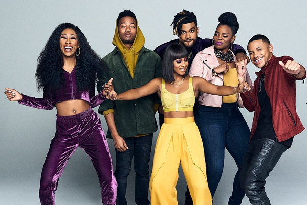 The cast of Boomerang on BET