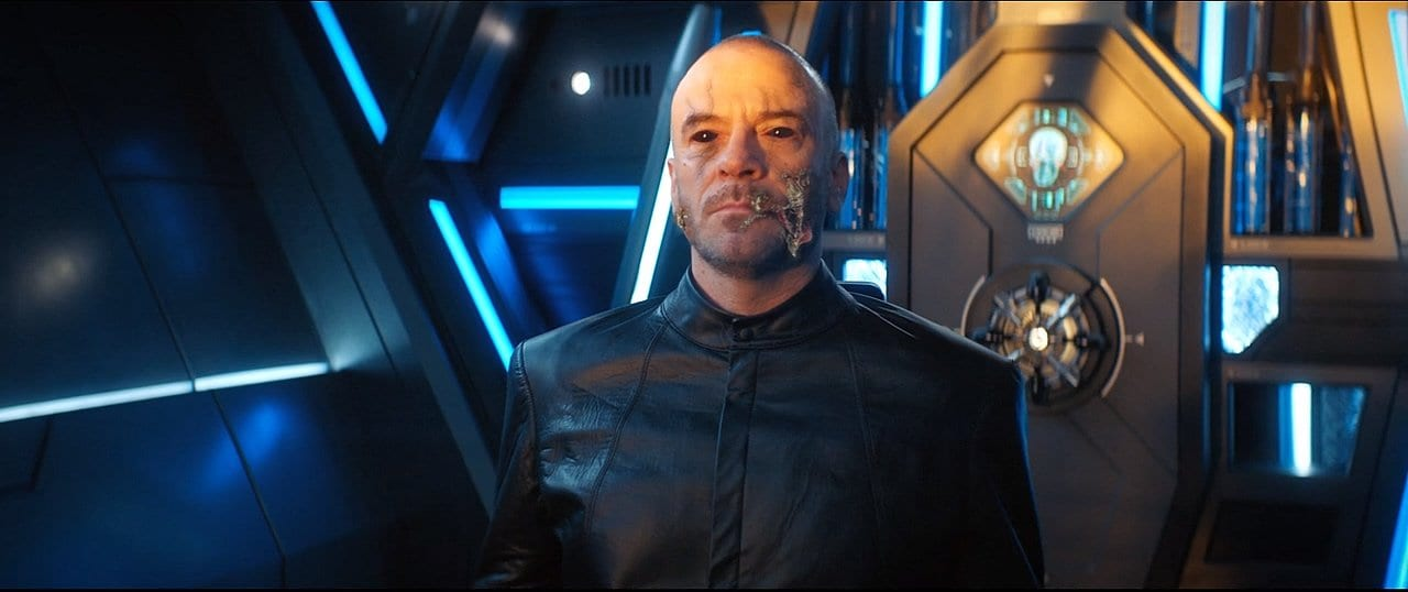 "Leland under the control of Control in Star Trek: Discovery Season 2 Episode 11 ""Perpetual Infinity"""