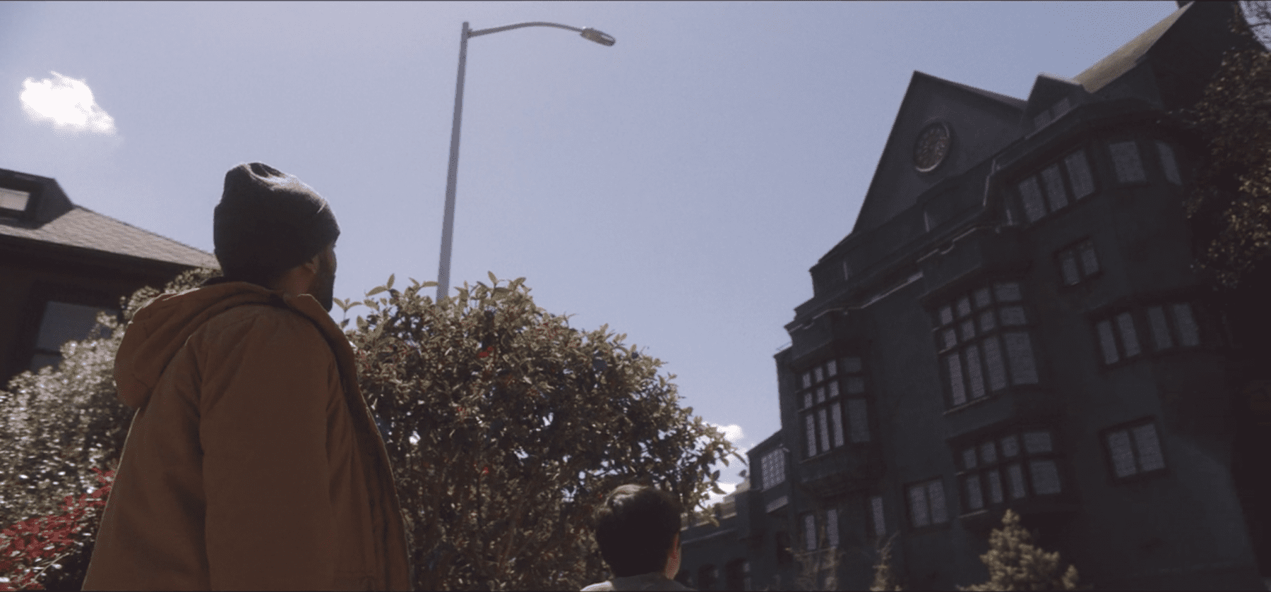 Karim Washington (Kingsley Ben-Adir) looks at a house in season 2 of The OA