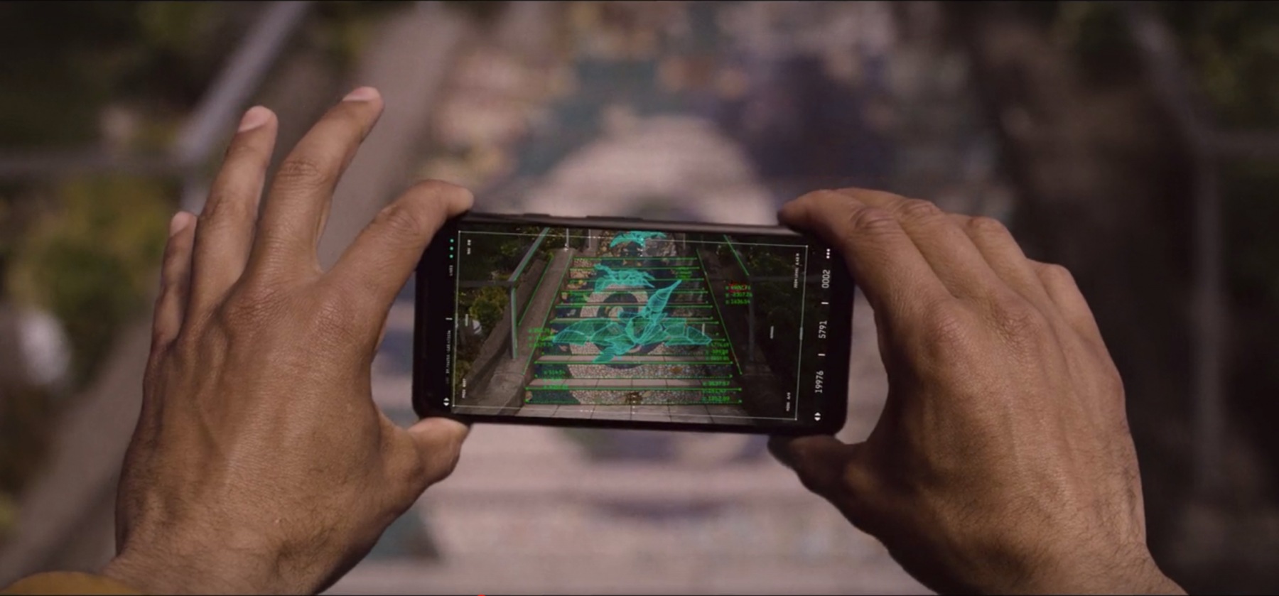 Karim explores augmented reality in The OA