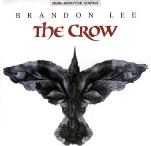 The album cover for the Crow Soundtrack