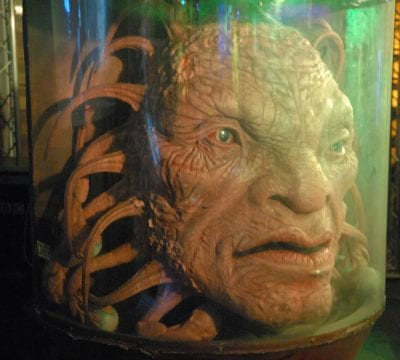 The Face of Boe in Doctor Who