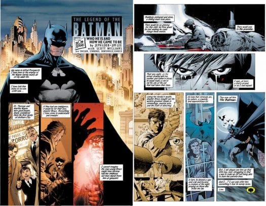 Yet another batman origin story, this time from Jeph Loeb and Jim Lee.