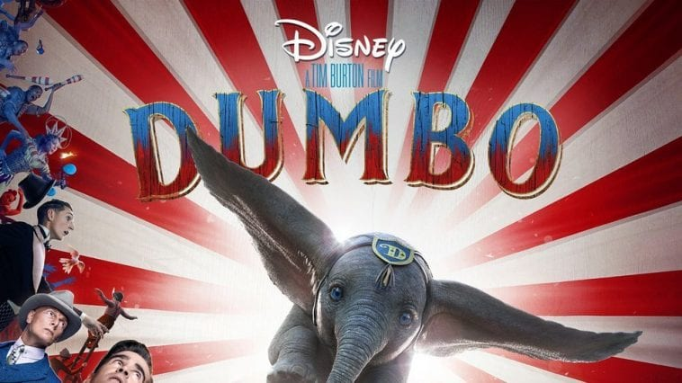 A poster from the 2019 film Dumbo.