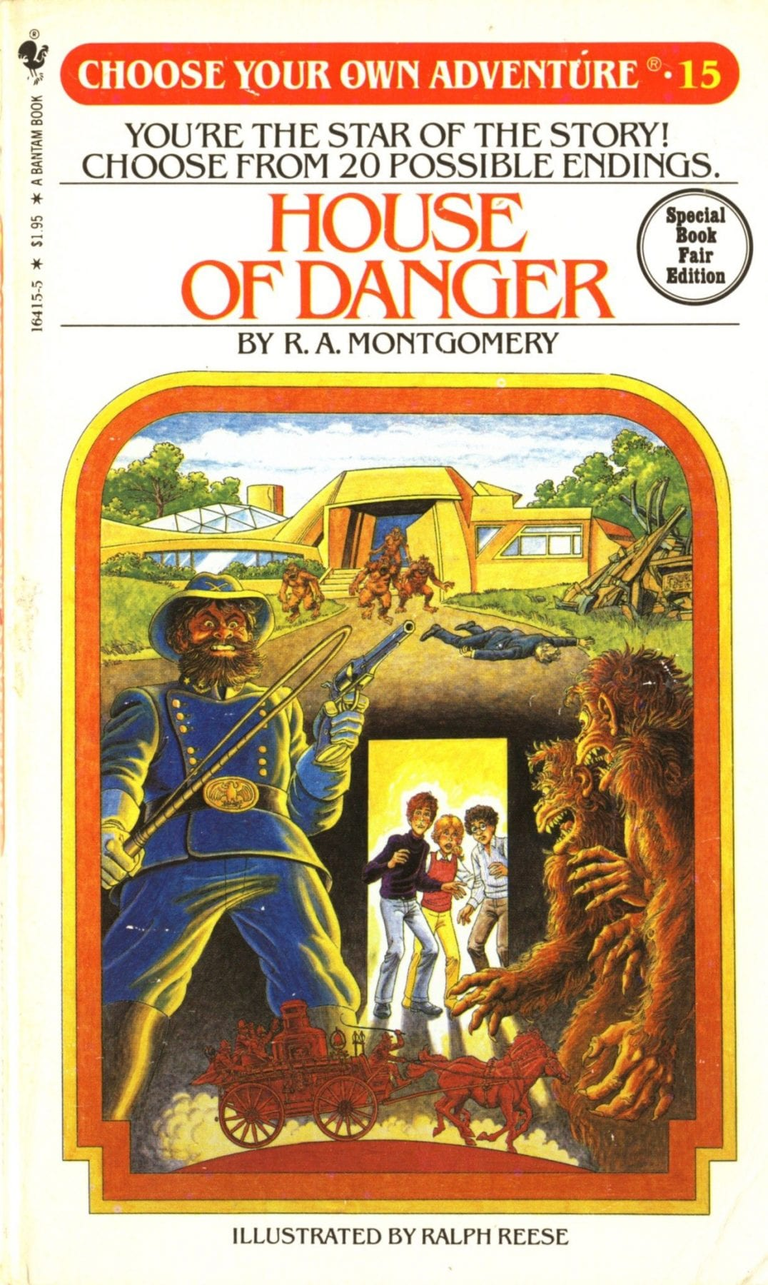Choose your own Adventure, House of Danger