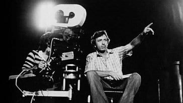 Late Director Larry Cohen on Set