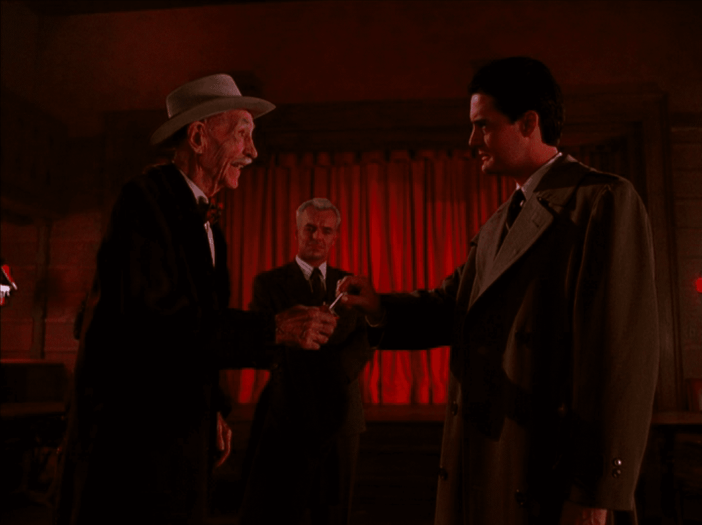 Senor Droolcup reveals Laura's killer in Twin Peaks
