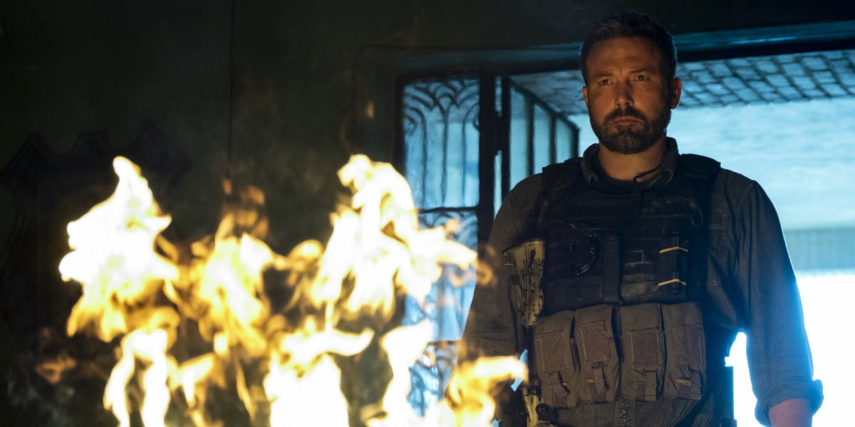 Ben Affleck stars in Triple Frontier on Netflix