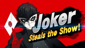 joker holding envelope